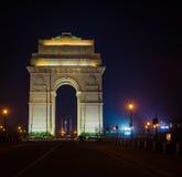 Indien port - New Delhi Arkivbilder