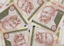 Indien proche de devise vers le haut Photographie stock