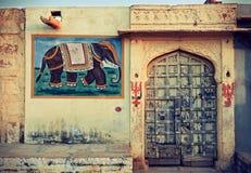 Indien Rajasthan Arkivbild
