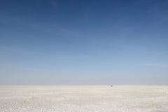 Indien, Salzwüste Stockfotografie