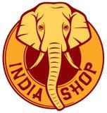 Indien shoppar Arkivbilder