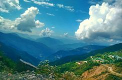 Indien Sikkim, gantok Royaltyfri Fotografi