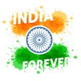 Indien självständighetsdagen 15th av august Royaltyfri Bild