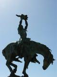 Indien sur le cheval Photographie stock libre de droits