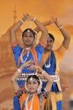 Indien-Tänzer stockfoto