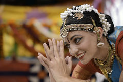 Indien-Tänzer Stockbild