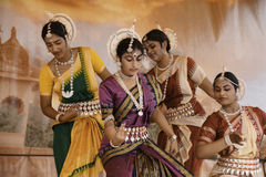 Indien-Tänzer lizenzfreie stockfotografie