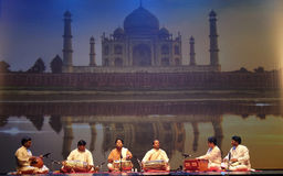 Indien-Tanzen Lizenzfreies Stockbild