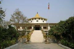 Indien tempel i Lumbini arkivfoton