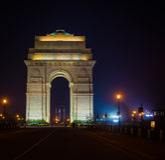 Indien-Tor - Neu-Delhi Stockbilder