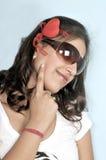 Indienne mignonne de fille Photographie stock libre de droits