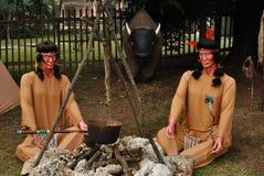 Indiens d'Amerique photo libre de droits