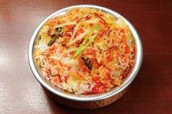 Indiens de nourriture photo stock