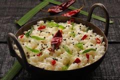 Indier Curd Rice royaltyfria bilder