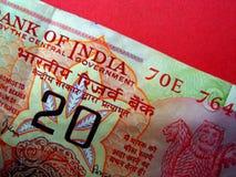indier för 09 valuta Royaltyfri Bild