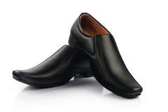 Indier gjord sko för man` s arkivbild