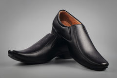 Indier gjord sko för man` s royaltyfria foton