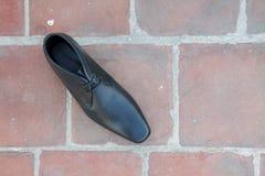 Indier gjorda skor för man` s royaltyfria foton