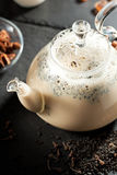 indier kryddar tea royaltyfria bilder