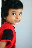 Indier Little Boy arkivfoto
