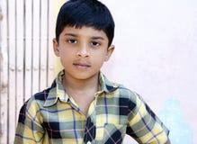 Indier Little Boy arkivbild