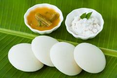 Indier overksamt med chutney och sambaren arkivfoton