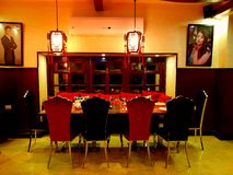 Indier Resturant Arkivbild