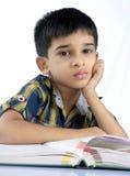 Indier skolar pojken fotografering för bildbyråer
