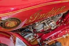 Indiern 1920 spanar 600cc 2 Arkivbild