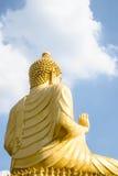 Indietro degli ambiti di provenienza di Buddha Fotografie Stock Libere da Diritti