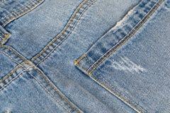 Indietro dei jeans immagine stock libera da diritti