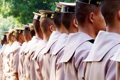 Indietro dei marinai Fotografie Stock
