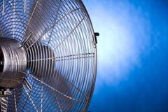 Indietro del ventilatore Fotografia Stock Libera da Diritti