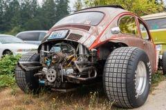 Indietro del volkswagen su ordine fotografia stock