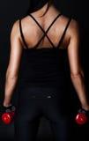 Indietro dell'atleta sexy da dietro Fotografia Stock Libera da Diritti