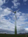 Indietro di un generatore eolico Fotografie Stock Libere da Diritti