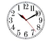 Indietro orologio Immagini Stock