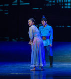 """The indifference of the review-Dance drama """"The Dream of Maritime Silk Road"""". Dance drama """"The Dream of Maritime Silk Road"""" centers on the plot stock images"""