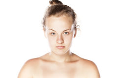 Indifferent girl Royalty Free Stock Photography