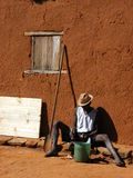 Indigène au Madagascar Images libres de droits