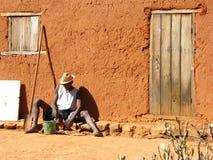 Indigène au Madagascar Images stock