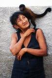 indigène indien de guaja du Brésil d'awa Photos libres de droits