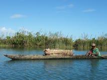 Indigène malgache Image libre de droits