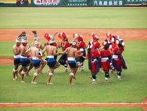Indigènes de danse de Taiwan Photos libres de droits