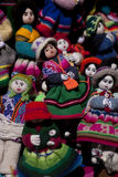 Indigenous handcraft. Of Inca from Peru Stock Image
