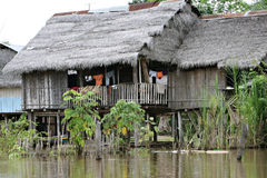 Indigenous House Royalty Free Stock Photo
