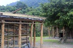 Indigenous huts Royalty Free Stock Photography