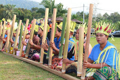 Indigenous Orang Asli Stock Photos