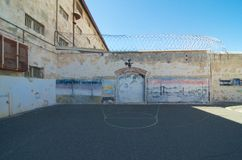 Indigenous prisoner art Fremantle Prison, Western Australia Royalty Free Stock Photography