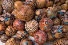 Indigenous quechua crafts in Ecuador Stock Image